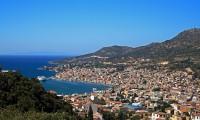 Neem de boot naar Samos