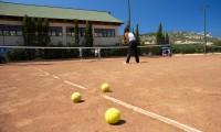 Speel tennis op vakantie